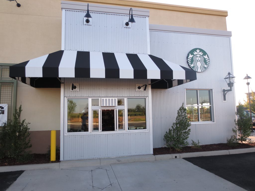 Starbucks Drive Thru Window Tint Encore Window Tinting